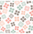 seamless design with patterned elements vector image