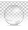 water bubble on isolated background vector image
