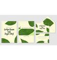 wedding personal menu envelope label save vector image vector image