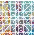 abstract geometric colored triangle grid vector image vector image