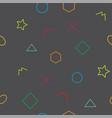 cutesy wallpaper vector image vector image