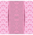 pink invitation vector image vector image