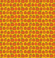 pumpkin stripe vector image vector image