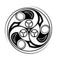 sacred geometry 0170 vector image vector image
