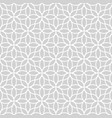seamless abstract floral pattern in oriental style vector image