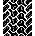 seamless trace of the off-road tyre vector image vector image
