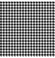houndtooths fabric seamless pattern vector image