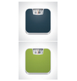 bathroom weight scale vector image vector image