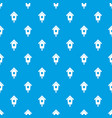 birdhouse pattern seamless blue vector image vector image