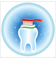 dental care symbol icon vector image