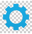 gear gradient icon vector image vector image