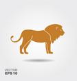 lion icon logo vector image