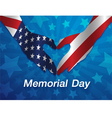 Memorial Day Design vector image
