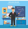 Online Education Training vector image vector image