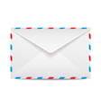 Postage envelope vector image vector image