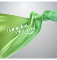 Ramadan Kareem retro label vector image vector image
