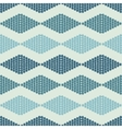 seamless pattern with rhombuses tribal vector image vector image