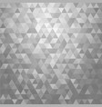 abstract gray triangle shape background vector image vector image