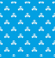 chemical gas mask pattern seamless blue vector image vector image