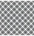 floral geometric monochrome elegant seamless vector image