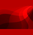 geometric red color abstract background modern vector image