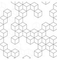 pattern cubes vector image