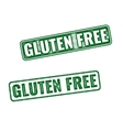 Realistic Gluten Free grunge rubber stamp vector image vector image