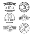 Set of vintage logo label badge and logotype vector image vector image