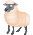 Sheep cartoon vector image vector image