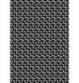Small gray cornflowers vector image