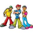 Urban Teenagers vector image