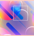 abstract dynamic geometric background vector image vector image