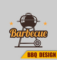 bbq grilled barbecue image vector image vector image