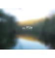 blurred background - Lake shore vector image