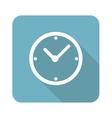 Clock square icon vector image vector image