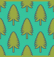 fir pattern vector image