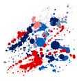 graffiti spray stains grunge background vector image