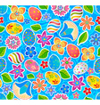 Seamless pattern with easter 2 vector image vector image