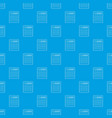 calculator pattern seamless blue vector image vector image