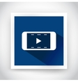 Icon of video for web and mobile applications vector image vector image