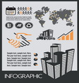 infographic industrial resize vector image vector image