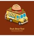 Mobile Food Van vector image vector image