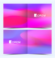 modern template for square brochure vector image