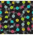 Vinyl discs seamless pattern Nignt party flyer vector image