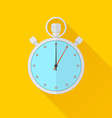 timer icon Flat style vector image