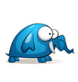 cartoon charater cute funny elephant vector image vector image