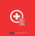expensive health medicine cost concept healthcare vector image vector image