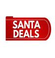 Santa deals banner design