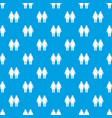 two girls lesbians pattern seamless blue vector image vector image