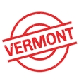 Vermont rubber stamp vector image